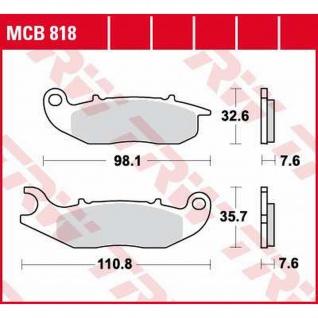 MCB818 Bremsbelag Derbi HM Honda Rieju