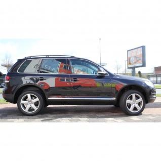 Dachrelinge VW Touareg Baujahr 2002 - 2010 Aluminium Schwarz mit TÜV und ABE
