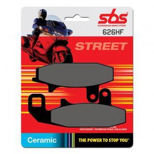 Bremsbelag SBS 626HF Street Ceramic