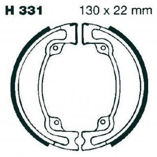 Premium Bremsbacken Water Grooved H331G für Honda