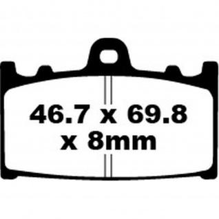 Extreme Pro Bremsbeläge EPFA158HH