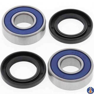 Wheel Bearing Kit Front KTM Duke 390 15-16, RC 390 15, Suzuki AN250 Burgman (Euro) 98-08, AN400 Burgman 03-08, DR250 90-93, DR250S 90-95, DR350 90-96, DR350SE 90-97, DR650RS (Euro) 92-96, DR650SE 92-95, DR800 (Euro) 91-97, Yamaha FZ16 (SA) 10-14, SR125 (E