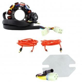 Stator Kit + Voltage Regulator 90W DC Lighting for Honda CRF 450 X 05-18 31120-MEY-672