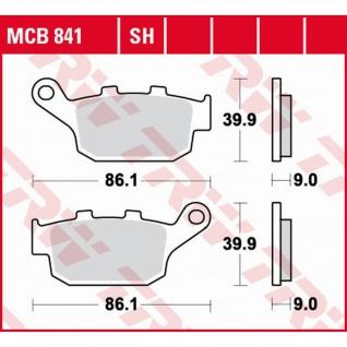 MCB841 Bremsbelag Honda Kawasaki Suzuki