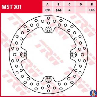 MST201 Bremsscheibe starr Honda CB NX XL Transalp XL XR