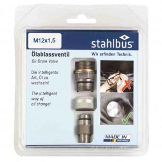 Oelablassventil M 12 x 1, 5 x 12 MM Stahl Komplettset