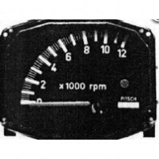 Pitsch Kröber Anzeigedisplay Tacho LZ13 Road Type 0-12000 RPM