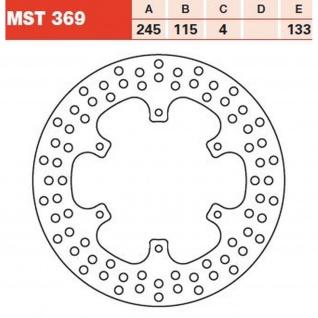 MST369 Bremsscheibe starr