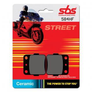 Bremsbelag SBS 584HF Street Ceramic