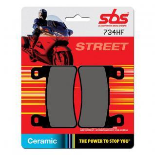 Bremsbelag SBS 734HF Street Ceramic
