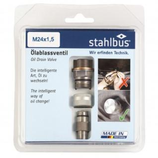 Oelablassventil M 24 x 1, 5 x 12 MM Stahl Komplettset