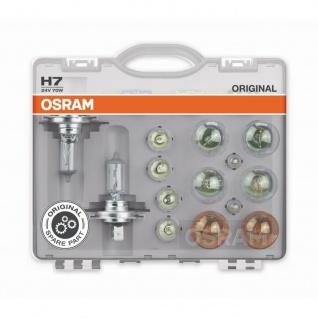 Ersatzlampenbox Osram Original H7 24V Minibox ( 8 Lampen 1 Sicherung )