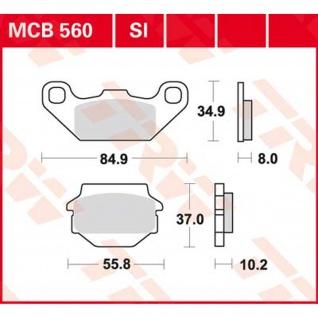 MCB560 Bremsbelag