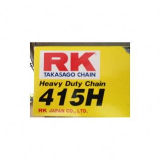 RK Kette 415 H 104 Glieder offen mit Clipschloss