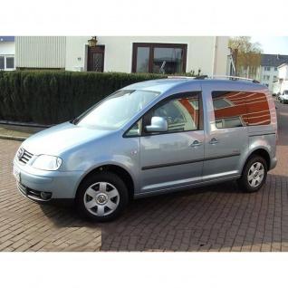 Dachrelinge VW Caddy III / IV ab Baujahr 2003 Aluminium in Chrom-Optik mit TÜV und ABE