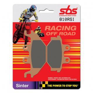 Bremsbelag SBS 810RSI Offroad Racing Sintermetall Adly ATV CPI Kymco SYM/Sanyang QuadLander Track Runner