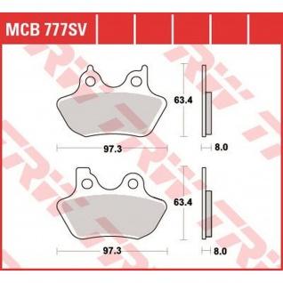 MCB777SV = MCB711SV Bremsbelag Harley