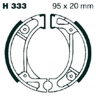 Premium Bremsbacken Water Grooved H333G für Honda