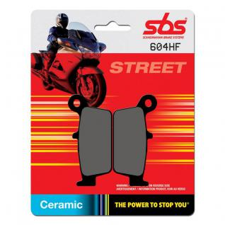 Bremsbelag SBS 604HF Street Ceramic