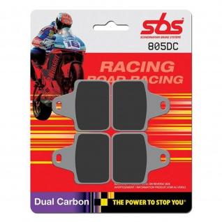 Bremsbelag SBS 805DC Road Racing Dual Carbon AP Racing CP-6688 AGPZ0 Brembo X99C460/61 PVM