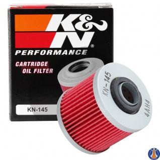 K&N Ölfilter KN-145 Yamaha MZ MUZ Aprillia Pegasa 650 Sachs Roadstar 2H0134409000 4X7134400000 583134401000