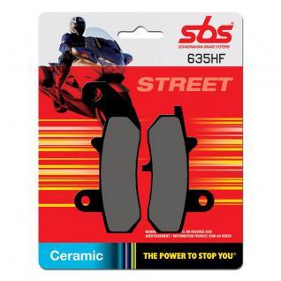 Bremsbelag SBS 635HF Street Ceramic