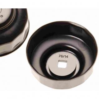 Filterdurchmesser 74 /76 mm 15 Kanten 5185