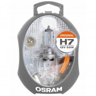 Ersatzlampenbox Osram Original H7 12V Minibox ( 6 Lampen 1 Sicherung )