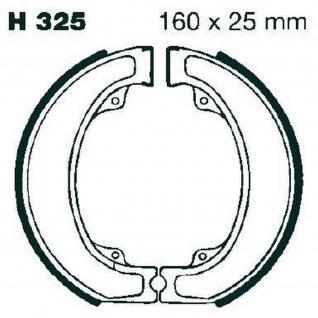 Premium Bremsbacken Water Grooved H325G für Honda