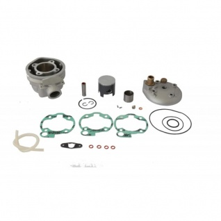 Cylinder Kit Replica ø50mm 80cc w.Cylinder Head Aprilia Beta RR Fantic CABALLERO Hm CMC 50 Malaguti XSM 50 Mbk Peugeot XP6 Rieju Sherco Yamaha DT 50 MINARELLI AM 3-4-5-6 - Vorschau 1