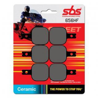 Bremsbelag SBS 656HF Street Ceramic