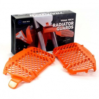 Digital Fan Lüfter Kit Radiator Guard orange Bundle KTM Husqvarna 16-