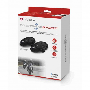 Interphone SPORT Bluetooth®-Kommunikation Doppelpack 2er Set