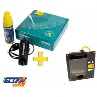 Scottoiler X System elektronische automatische Kettenpflege xSystem inkl. HCR Magnum Tank Zusatzreservoir mit einem Fassungsvermögen von 400 ml