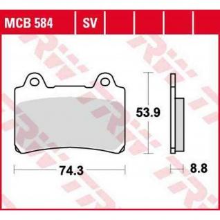 MCB584 Bremsbelag Yamaha 750 1000 FZR 800 TRX 1200 FJ 1300 XVZ 86-00