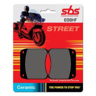 Bremsbelag SBS 698HF Street Ceramic