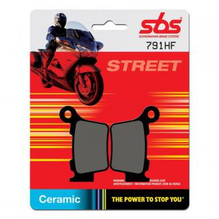 Bremsbelag SBS 791HF Street Ceramic