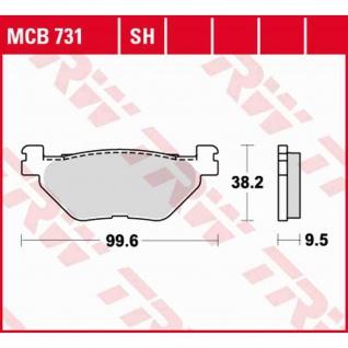 MCB731 Bremsbelag Hyosung Aquila GV650 Yamaha TDM SCR XV XT JFR XV XVS 02-17