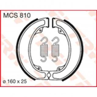 MCS810 Bremsbacken 160x25 Honda 500 XL 79-82