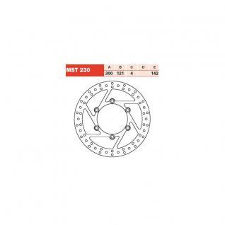 MST230 Bremsscheibe starr Suzuki DR 650 XF 650 Freewind 800 DR 90-02