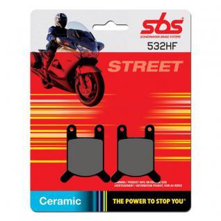 Bremsbelag SBS 532HF Street Ceramic Puch Cobra Imola Monza