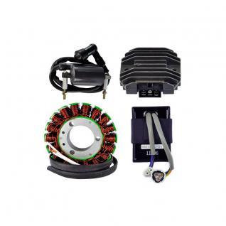 RM22969 Kit Stator / CDI Box / Voltage Regulator Rectifier (RM30401) / External Ignition Coil Kawasaki KLF 300 Bayou 92-04