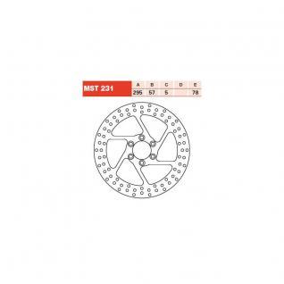 MST231 Bremsscheibe starr Suzuki VS Intruder 600 750 800 1400 87 - 00