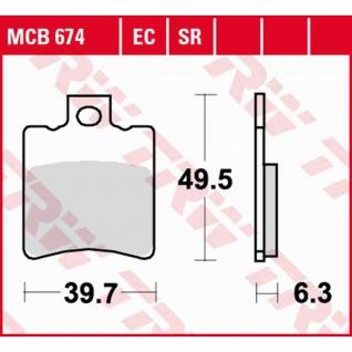 MCB674 Bremsbelag