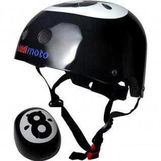 Kiddimoto Helm Eight Ball Größe M - 53-58 cm, geprüft nach EC EN1078