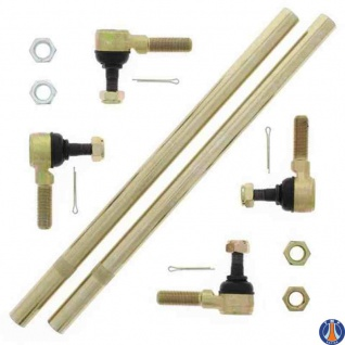 Tie Rod Upgrade Kit Honda TRX450ER 06-14, TRX450R 04-09, Kawasaki KFX 700 V-Force 04-09, KFX400 03, KVF650 I Brute force 06-13, KVF750 Brute Force 05-18, KVF750 Brute Force EPS 12-18, Suzuki LT-F500F Vinson 03, LT-Z400 03