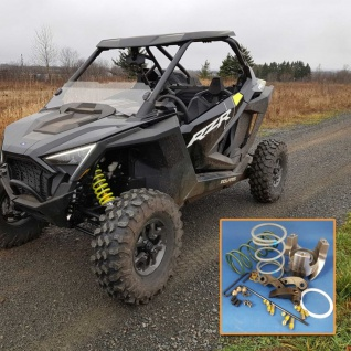 Clutch Kit Polaris Pro XP Turbo two seat and 4 seat versions -Stock or oversized tires, adjustable kit. 2020 (only*