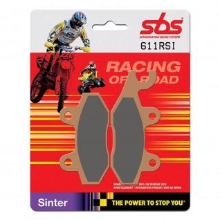 Bremsbelag SBS 611RSI Offroad Racing Sintermetall Yamaha YFM 700 R