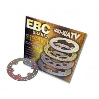 Edelstahl Disc mit Carbonstahl Ø=228mm / starre Bremsscheibe (goldfarben beschichtet) Polaris Outlaw 450 500 525