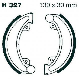Premium Bremsbacken Water Grooved H327G für Honda